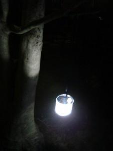 エムパワード 防水型ソーラーランタン キャンプ