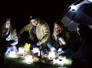 キャンプ用 エアーランタン