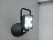 LED投光器充電式サンダービーム写真①