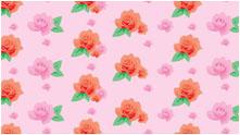 decoシリーズフラワーデコ ピンク柄