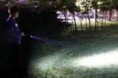 充電式LEDワークライト(多機能タイプ)使用例①