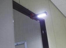 充電式LEDワークライト(多機能タイプ)使用例③