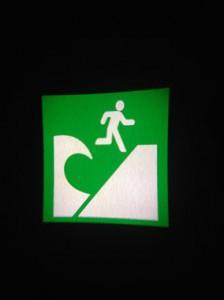津波避難場所ロゴ